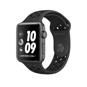 Apple Watch Nike+ 42mm Sport Band Anthracite/Black With Space Grey Aluminium Case
