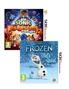 Sonic Boom Fire and Ice + Disney Frozen [Bundle]