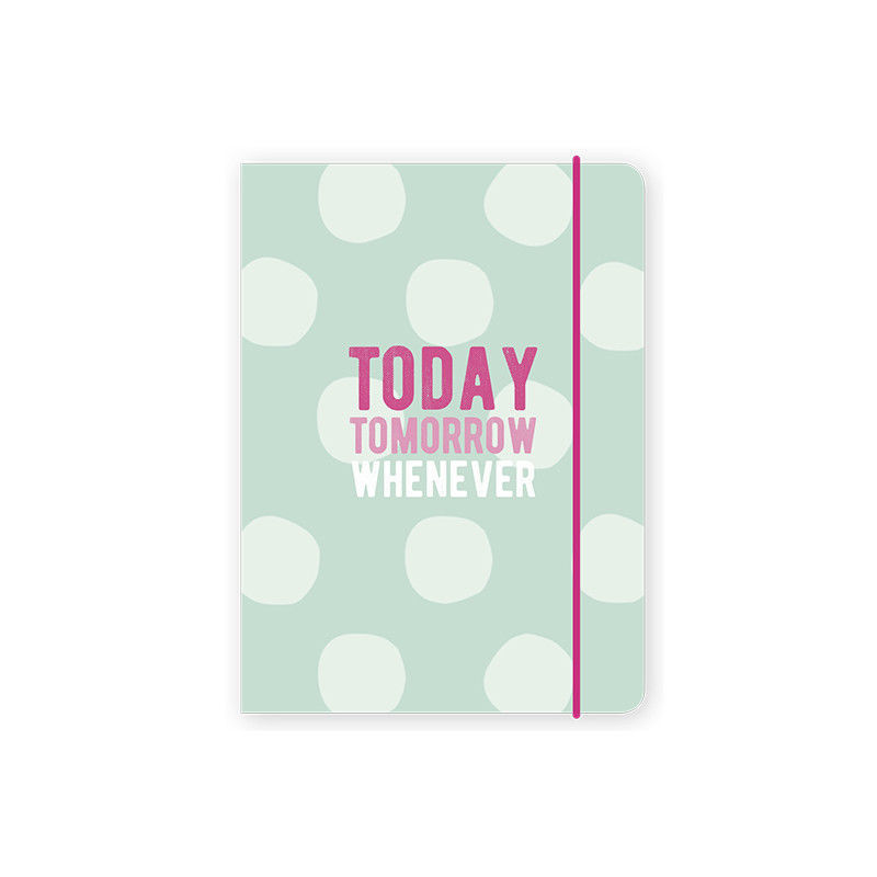 Go Stationery Today Tomorrow Whenever Kraft Typo 2018-2019 Diary