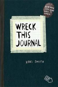 Wreck This Journal Black