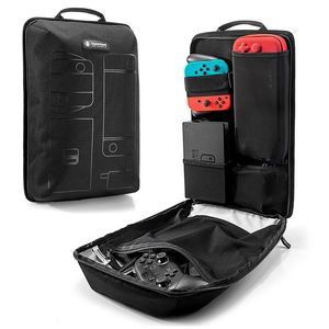 tomtoc Backpack Storage Travel Bag Black for Nintendo Switch