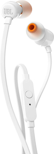 JBL T110 White In-Ear Earphones