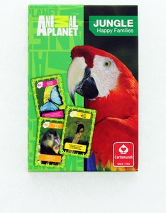 Cartamundi Animal Planet Happy Families Card Game