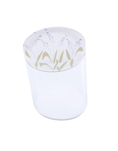 Silsal Seasonal Acrylic Catch All Lavender Container [Medium]