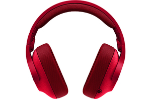Logitech G 433 Fire Red 7.1 Surround Gaming Headset