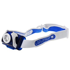 LED Lenser SEO7R Series Blue Headlamp