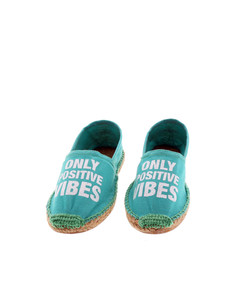 Acqua Positive Vibes Water Green Women's Espadrillas