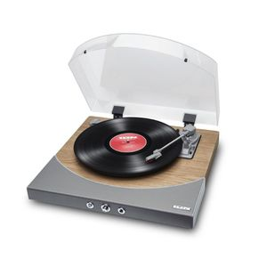 iON Premier LP Bluetooth Turntable Natural