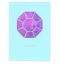 Portico Design Amethyst Birthstone Mint Green A6 Notebook