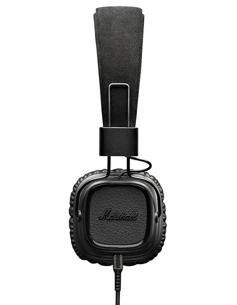 8dca7d81fcc Marshall Major II Pitch Black On-Ear Headphones | On-Ear Headphones ...