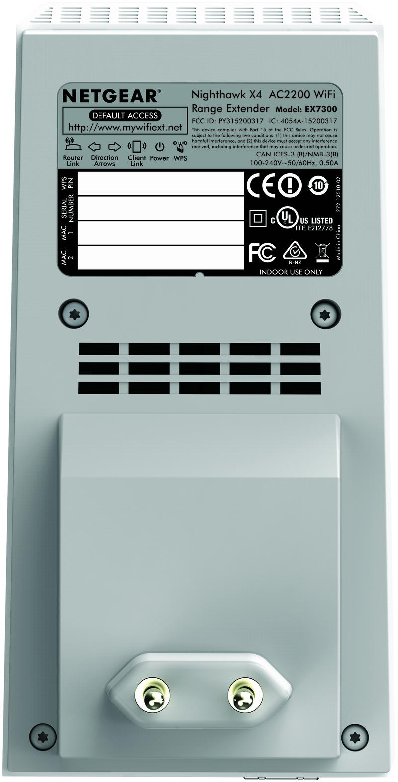 Netgear EX7300 AC2200 Nighthawk X4 WiFi Mesh Extender