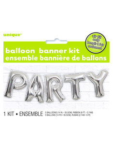 Unique Party Letter Balloon Banner Kit