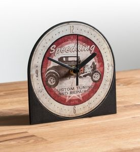 Speedking Mantle Clock Hot Rod