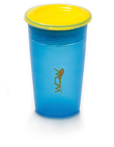 Wow Gear Juicy Wow Cup Blue Cup / Yellow Valve / Freshness Lid  266 ml