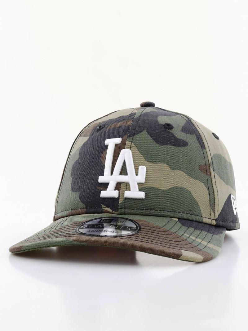 New Era Camo Packable LA Dodgers Cap Woodland Camo
