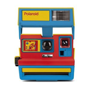 Polaroid 600 Series Instant Camera MTV Stereo Cam Limited Edition