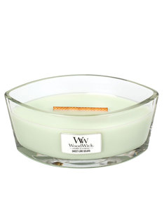 Woodwick Sweet Lime Gelato White Large Candle
