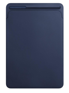 Apple Leather Sleeve Midnight Blue For iPad Pro 10.5-Inch