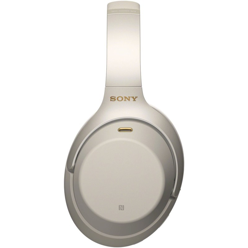 Sony WH-1000XM3 Wireless Noise-Canceling Headphones Silver