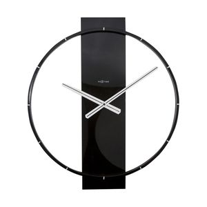 Nextime Carl Wall Clock Black