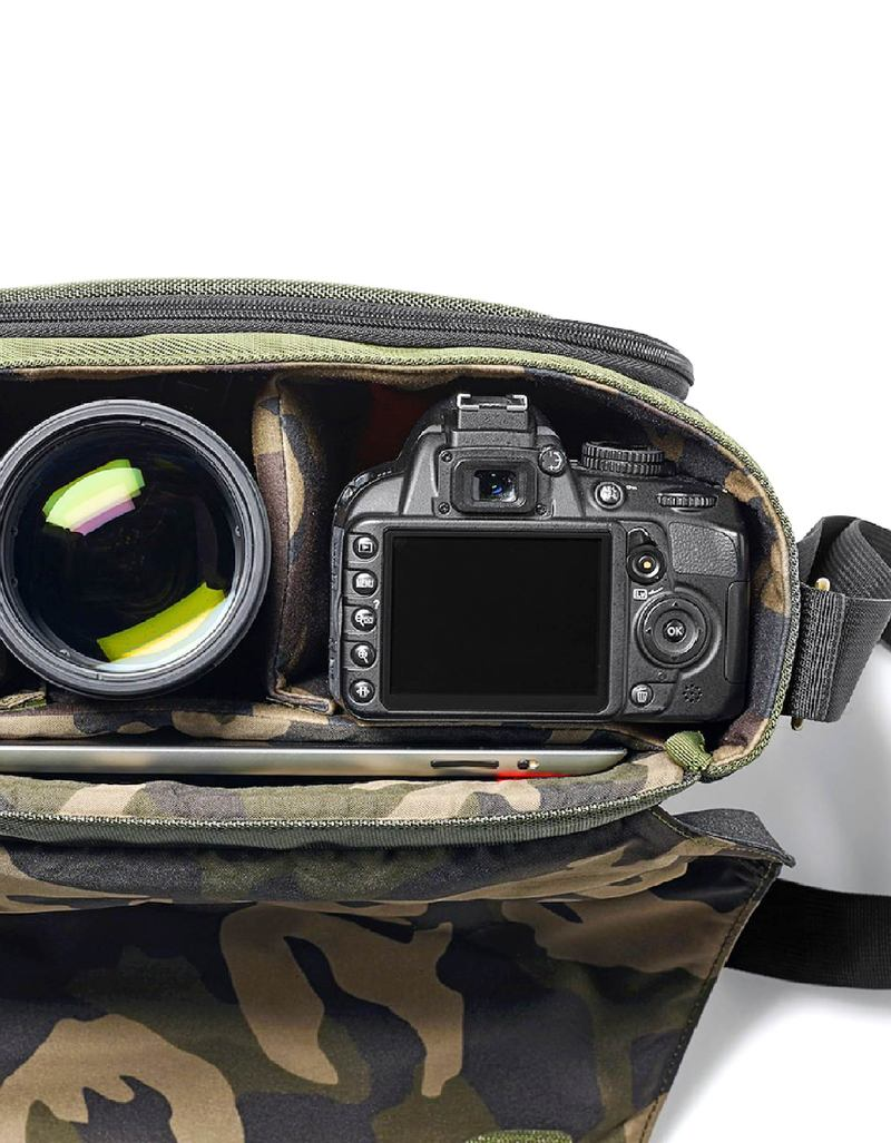 39a10d74b6 Manfrotto Street Camera Messenger Bag Green   Gray For CSC DSLR ...