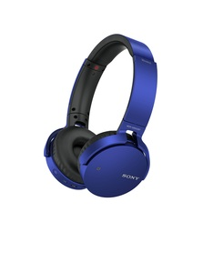 Sony MDR-XB650 Blue Bluetooth Headphones
