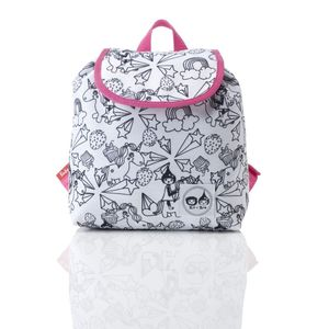 Zip & Zoe Unicorn Colour And Wash Backpack
