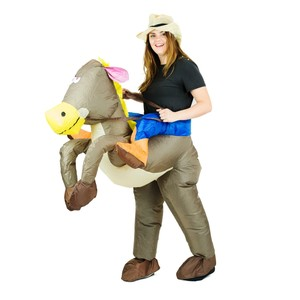 Bodysocks Inflatable Cowboy Costume for Adults