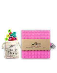 Waff Glitter Secret Diary Combo Pink Notebook