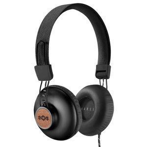 The House of Marley Positive Vibration 2.0 Signature Black On-Ear Headphones