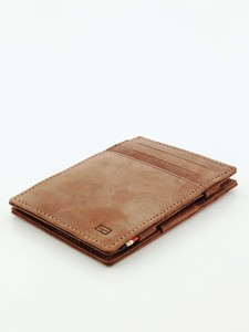 Garzini Essenziale Magic Wallet Vintage Java Brown Wallet
