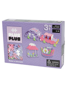 Plus-Plus Mini Pastel 3 in 1 Building Blocks [220 Pcs]