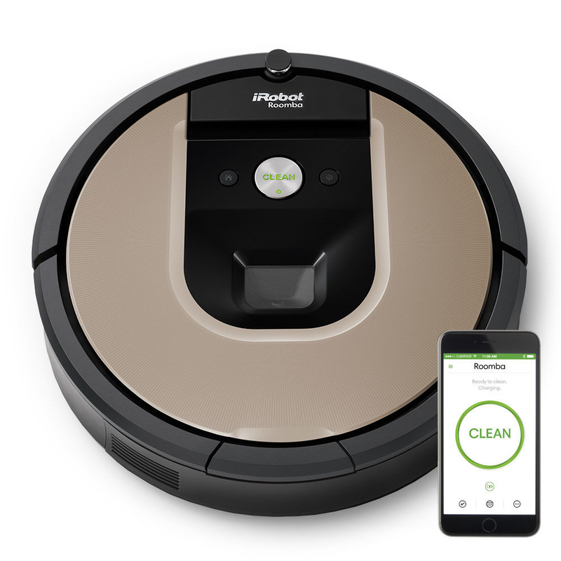 iRobot Roomba 966 Vacuuming Robot | Home Tech + Accesssories ...
