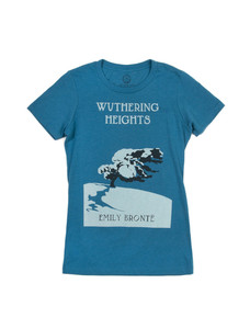 Wuthering Heights Teal T-Shirt Women's