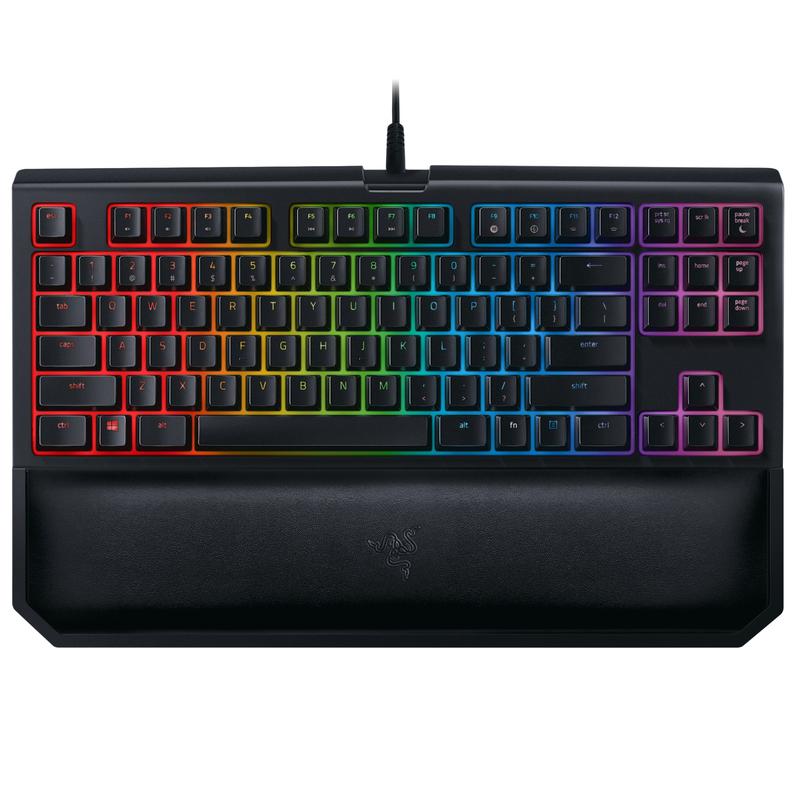 Razer Blackwidow Tournament Edition Chroma V2 Keyboard Orange Switch