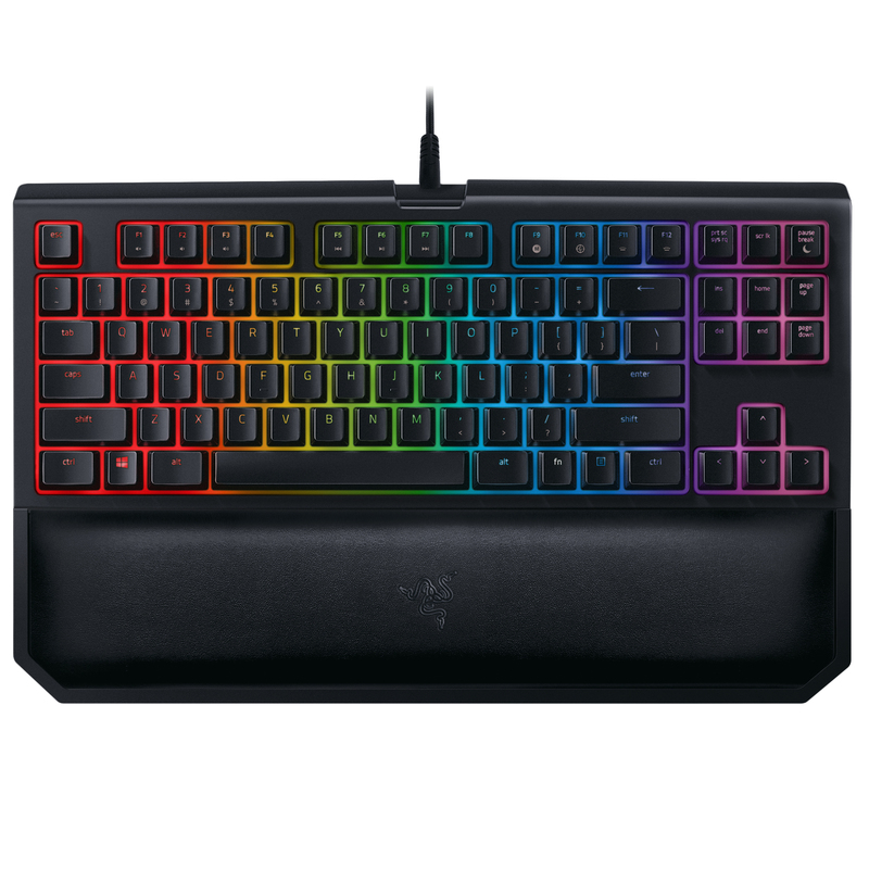 Razer Blackwidow Tournament Edition Chroma V2 Keyboard Orange Switch Keyboards Keyboards Mice And Graphics Computers Accessories