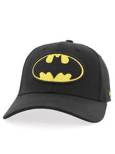 Batman Logo Baseball Unisex Cap Black One Size