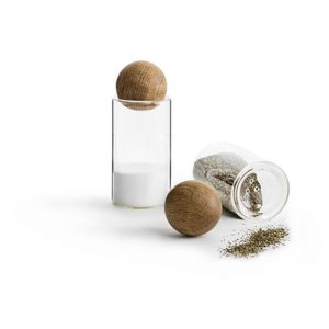 Sagaform Oak Salt/Pepper Set