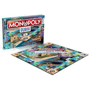 Winning Moves Monopoly Dubai Official Edition