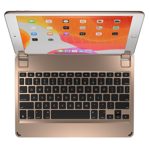 Brydge Aluminium Bluetooth Keyboard Gold for iPad 10.2-Inch 7th Gen