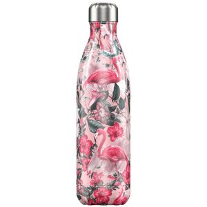 Chilly's Bottle Tropical/Flamingo 750ml Water Bottle