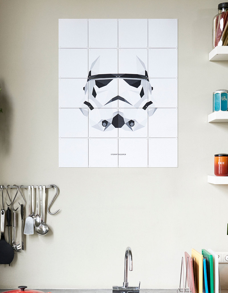 Ii Star Wars Icons Stormtrooper Wall Decoration
