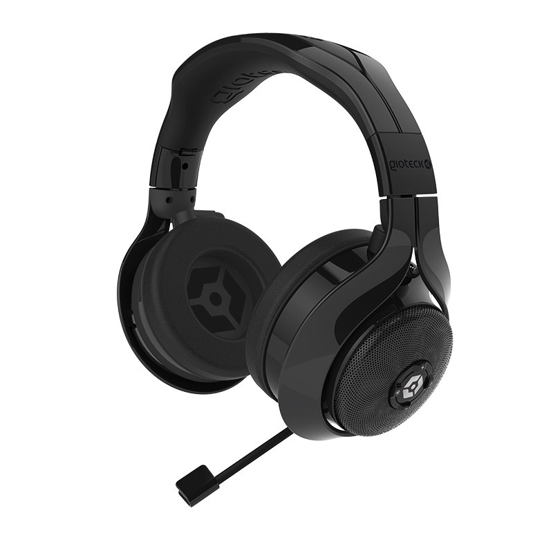 Gioteck Fl-300 Black Wired Stereo Universal Gaming Headset
