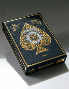 THEORY11 ARTISAN BLACK PLAYING CARDS