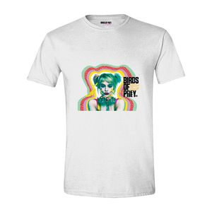 Birds Of Prey Harley Quinn Kiss Men'S T-Shirt White S