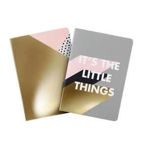 Zoella It's The Little Things Jotter Notepads [Set of 2]