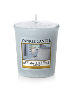 Yankee Candles A Calm & Quiet Place Votive Candle