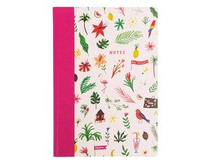 Ohh Deer Tropical Notes A4 Quarterbound Notebook