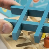 Tic Tac Two Wooden Game