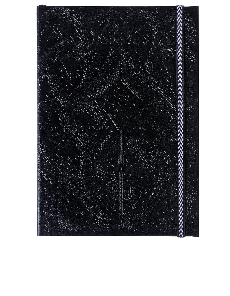Libretto A6 Paseo Embossed Layflat Notebook Black